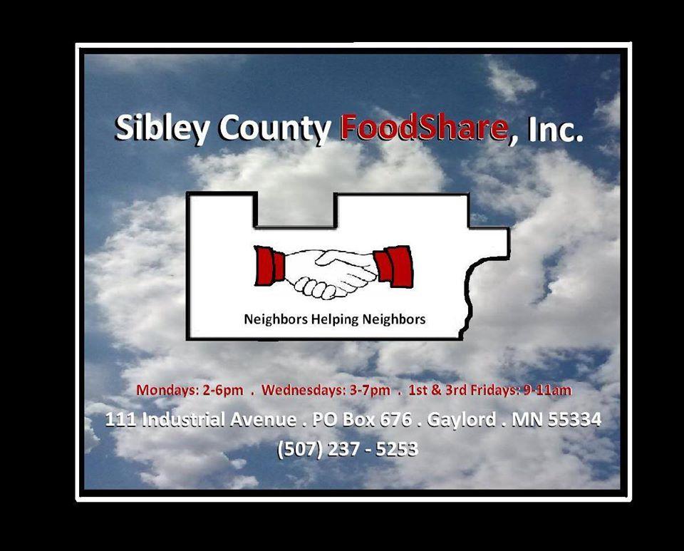 Sibley County Food Share Inc Food Shelf
