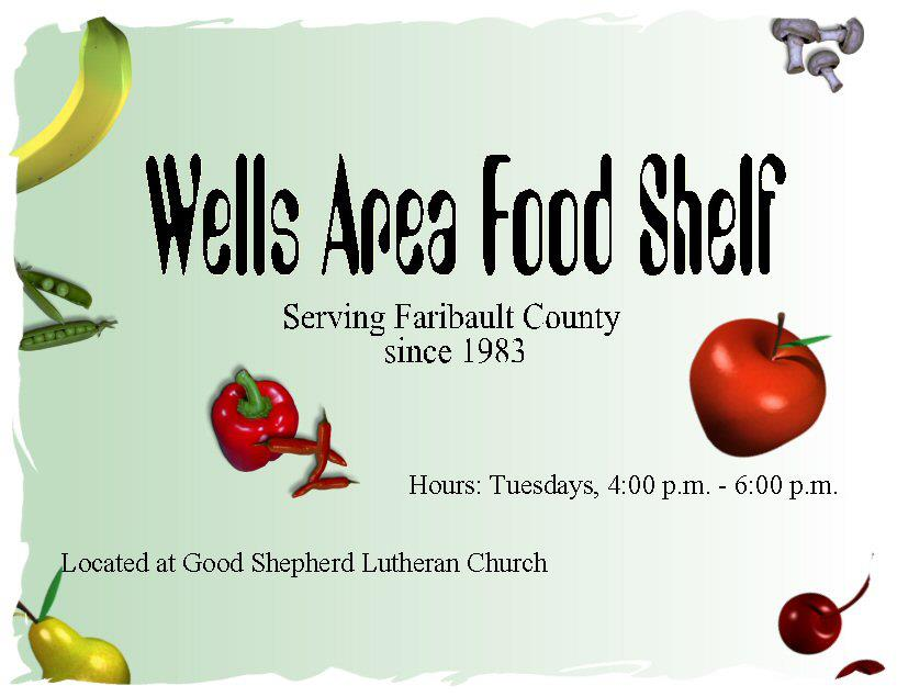 Wells Area Food Shelf