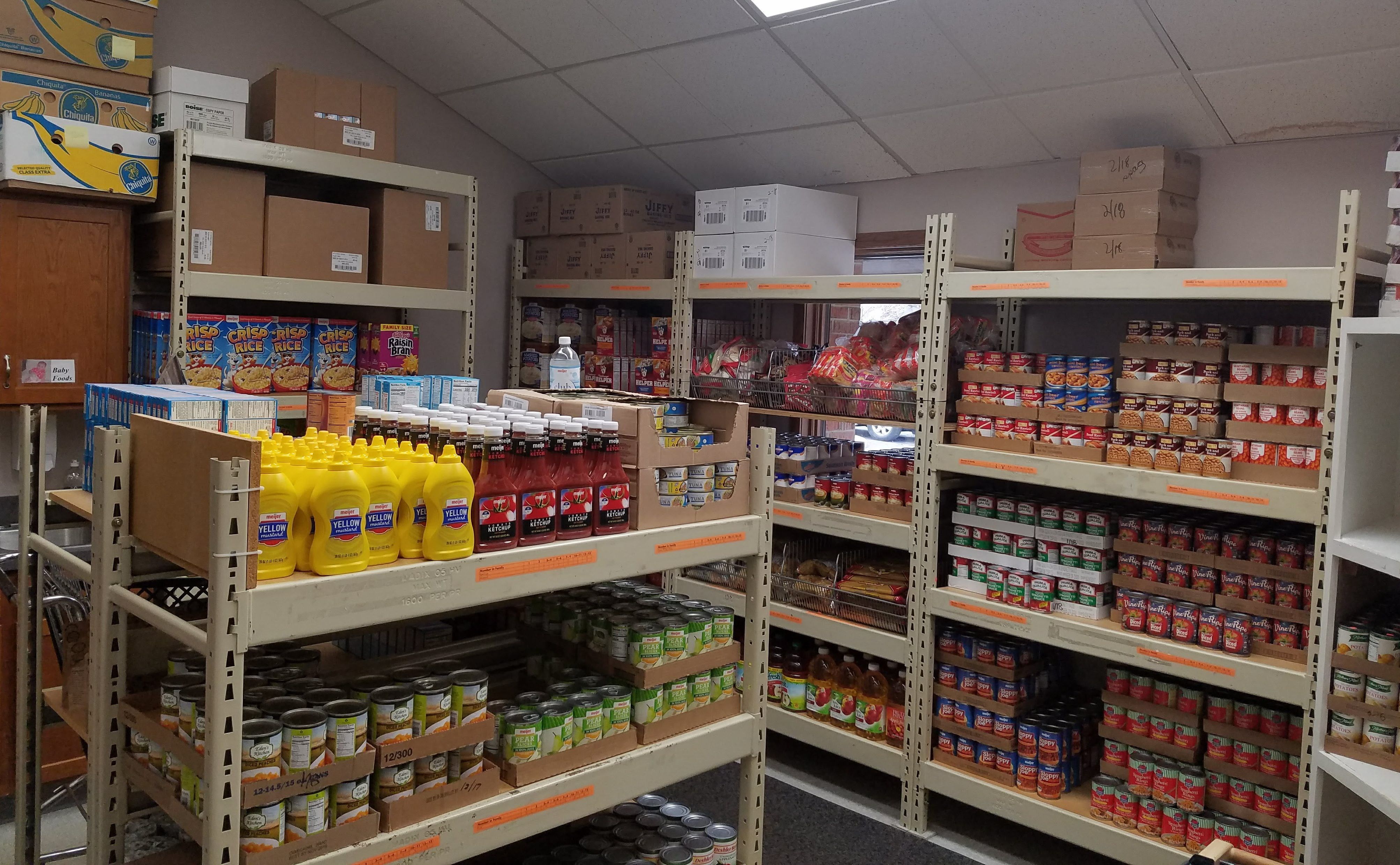 Redeemer Food Pantry for Clinton County