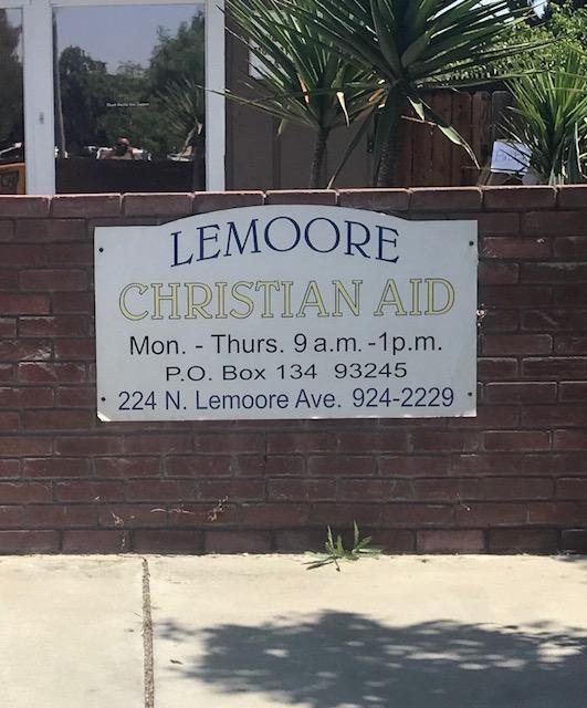 Lemoore Christian Aid Food Pantry
