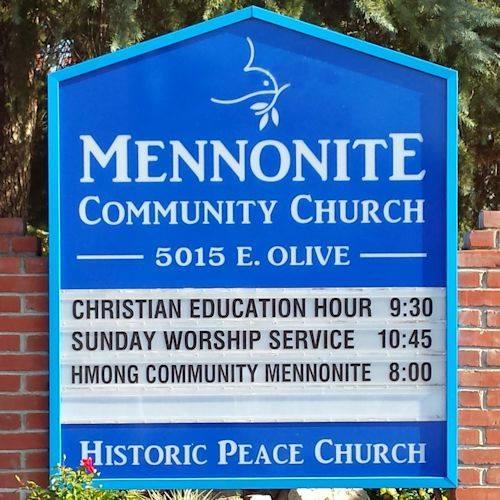Mennonite Community Church (USDA) Food Pantry