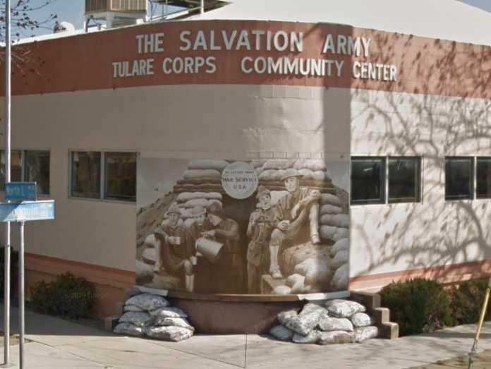 Salvation Army Tulare Food Pantry