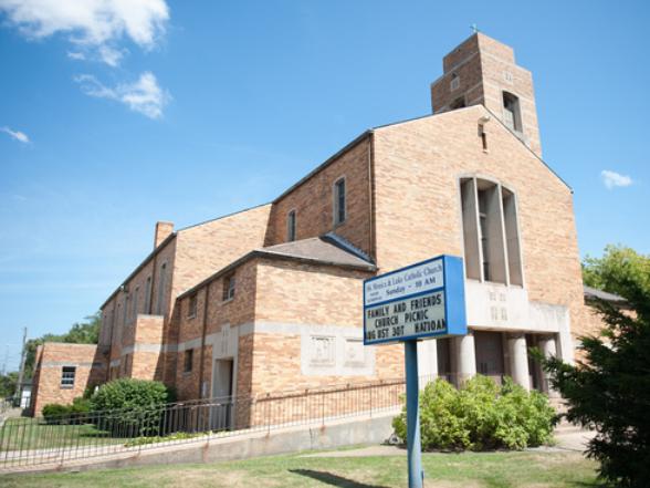 St Monica and Luke Church - Food Pantry