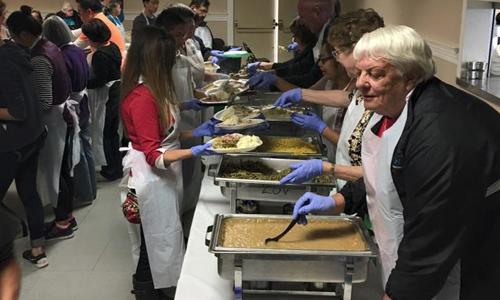 League of Volunteers Emergency Food Pantry