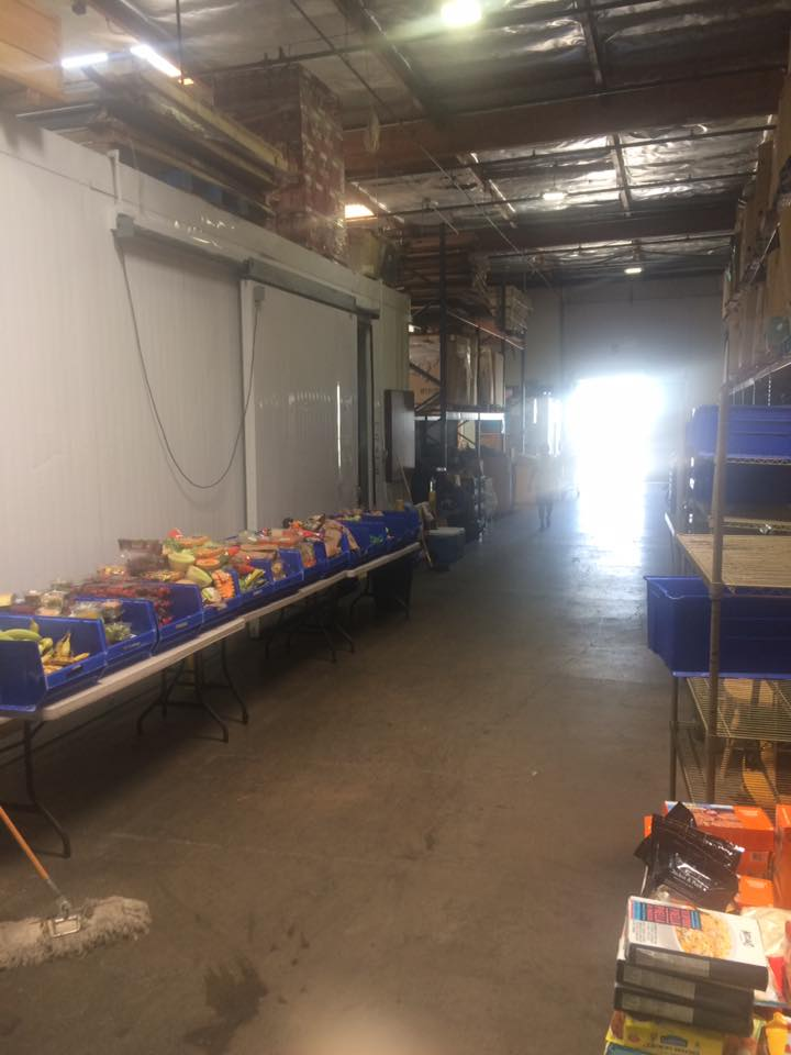 The Mercy Warehouse Food Distribution