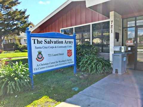 The Salvation Army Santa Cruz - Food Pantry