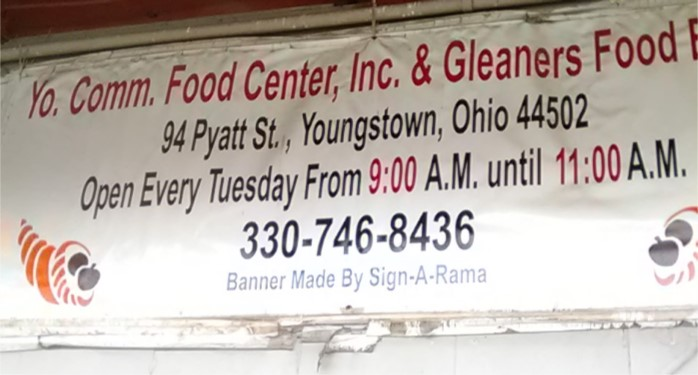 Gleaners Food Bank Youngstown