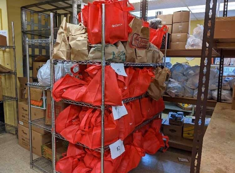 Bread of Life Food Distribution