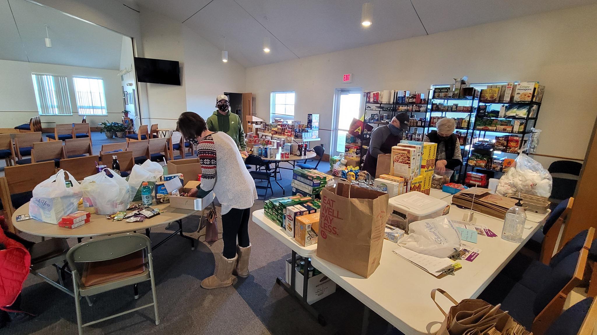 Community Food Relief/Food Shelf at LWLC