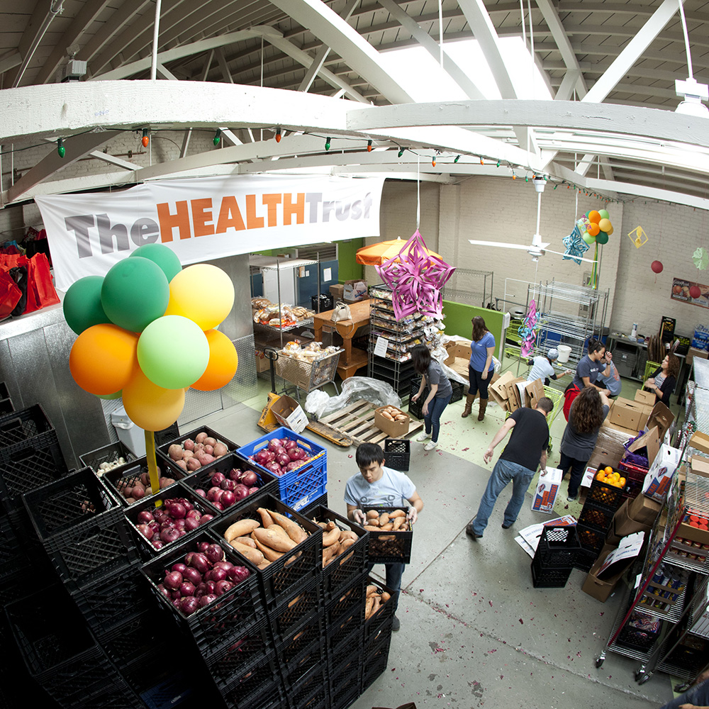 The Health Trust Food Basket