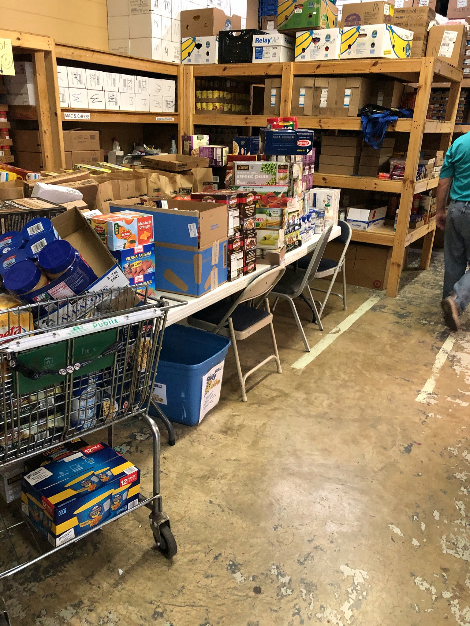 Limestone County Churches Involved - Food Pantry