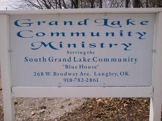 Blue House - Grand Lake Community Ministry