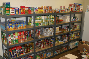 Afternoon Manna Clothes Closet, Food And Diaper Pantry